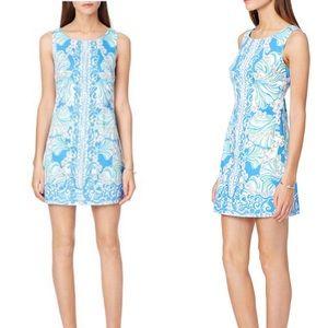 COPY - Lilly Pulitzer Blue Shell Dress